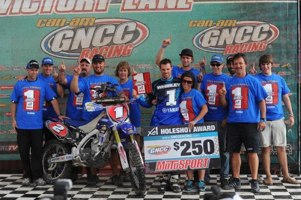 Paul Whibley 2012 GNCC Champion